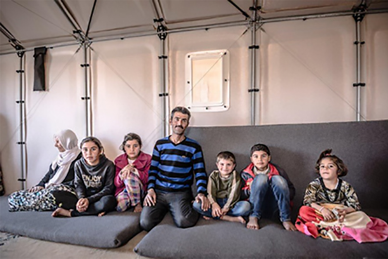 exel_cooperate_Better_Shelter_refugee_families_UNHCR