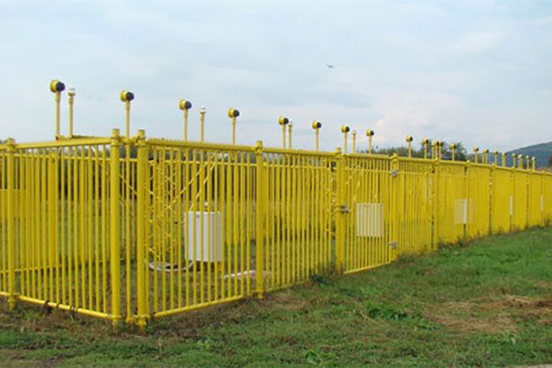 exel_frangible_airport_fence_Zilina_airport_Slovakia