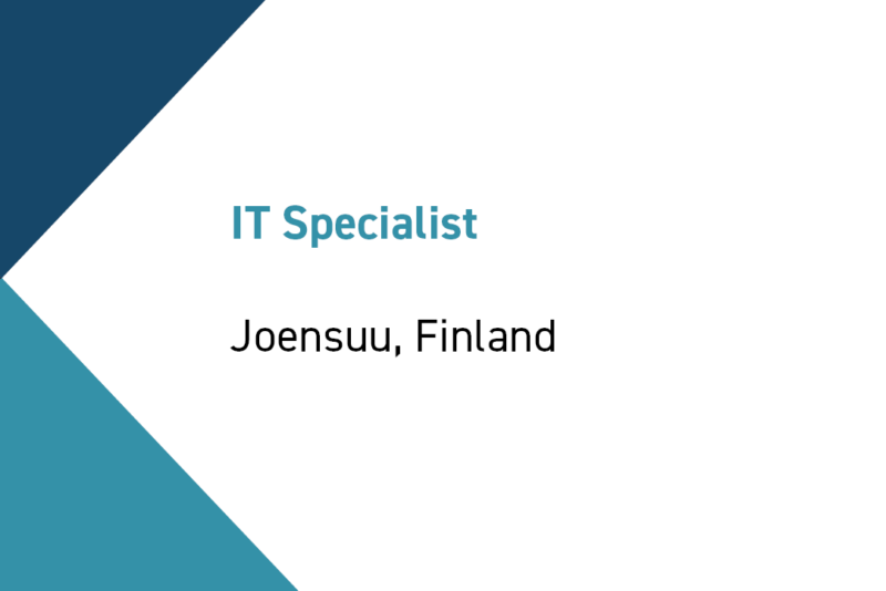 IT specialist at Exel Composites