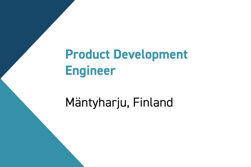 Mäntyyn Product Development Engineer