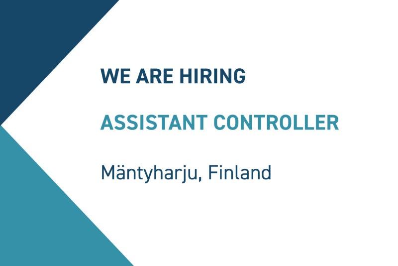 Exel Composites Assistant Controller position 2021-08