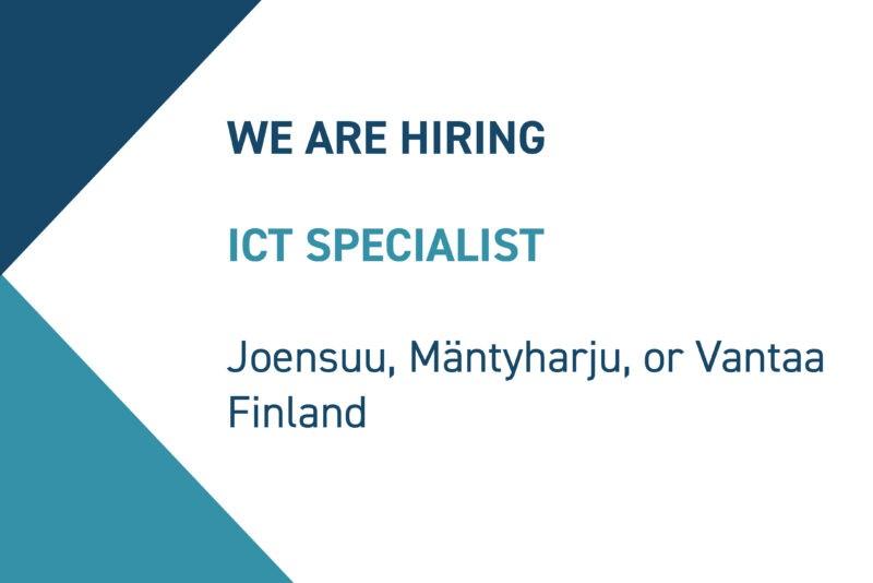 ICT Specialist FI